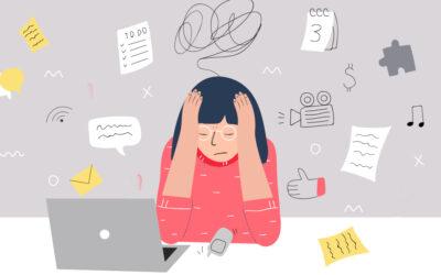 Studentes met stress
